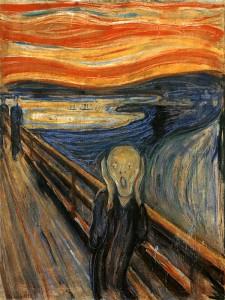 L'urlo, Edward Munch, 1883, Galleria Nazionale, Oslo